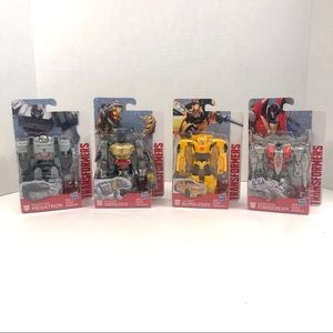 Transformers Legends Class Figures Lot Of 4